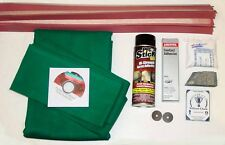 8' Proline Pool Table Felt Cloth Recovering & Refelting Accessory Repair Kits
