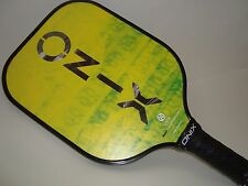 NEW YELLOW ONIX REACT GRAPHITE PICKLEBALL PADDLE STRONG CARBON FIBER LITE GREEN