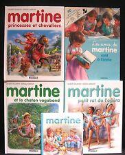 Book Lot 5 MARTINE French BABY-SITTER LES AMIS DE VONT A L'ECOLE BALLET CHATON