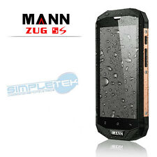 GOLD MANN ZUG 5S 32GB 4G RUGGED PHONE - IP67 QUAD CORE 5 INCH HD 128 gold