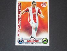 VAN DER HEYDEN FSV MAINZ TOPPS MATCH ATTAX PANINI FOOTBALL BUNDESLIGA 2009-2010