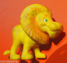 Leone lion leoncino cartoon fumetti action figure re storie giallo vintage raro