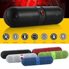 Mini Speaker Bluetooth Wireless FM Stereo Shockproof for SmartPhone Laptop PC
