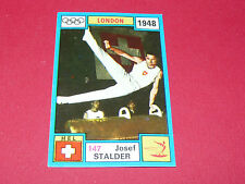 N°147 J. STALDER SUISSE PANINI OLYMPIA 1896 - 1972 JEUX OLYMPIQUES OLYMPIC GAMES