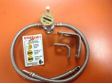 CROSSFIRE TIRE EQUALIZER SYSTEM 90 PSI STAINLESS STEEL HOSES