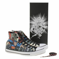 Converse Men's Multi Chuck Taylor Hi Superman Comics Trainers Size UK 7-13