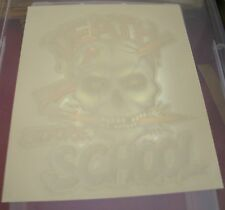 Vintage Death Before School T-Shirt Iron On Transfer