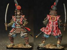 Tin toy soldiers ELITE painted 54 mm  Kato Kiyomasa, 1590-ies. Japan