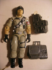 Hasbro gijoe GI joe ORIGINAL vintage figure 1986 MAINFRAME Cobol near complete