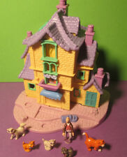Polly Pocket Mini Disney ♥ ARISTOCATS Villa ♥ 100% complete ♥ 1996 ♥ selten!