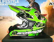 SCORPION EVO vx-15 Air magma PUMP sistema Cross Enduro Casco KAWASAKI KX-F KX NUOVO M