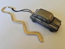Wolseley 1300 (BMC) ref307  FULL CAR on a CURVED bookmark with cord