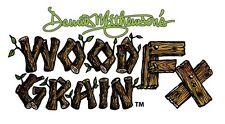 Artool Iwata Wood Grain FX Airbrush Stencil Set by Dennis Mathewson Createx