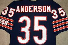VTG AUTHENTIC 90's NEAL ANDERSON CHICAGO BEARS NFL RUSSELL JERSEY 42