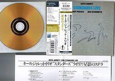 KEITH JARRETT Standards Live JAPAN 24k GOLD Mini LP CD w/OBI+INSERT UCCE-9005
