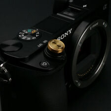 Gariz Sticker Soft Release Button XA-SB6 for Sony Fuji Leica Canon Nikon Gold