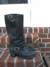 Vintage Frye Women VERA TALL SLOUCH Engineer Motorcycle Boots sz 8.5 stk# 76527