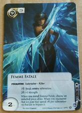 Android Netrunner - Femme Fatale Alternate Art Promo Card