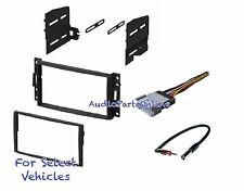 Double Din Car Radio Kit Combo for select 2006 2007 2008 2009 2010 Hummer H3 H3T