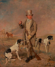 Portrait of a sportsman, possibly richard prince perros Marshall caza B a3 00145