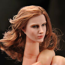 "European Female Actress 1/6 Scale ZC Toys Head Sculpt Fit 12"" Figure Doll Model"