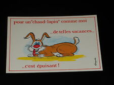 CARTE POSTALE - LAPIN - 2 - ALEXANDRE - ANNEES 1980  - HUMOUR