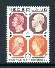 Netherlands 2016 MNH Day of the Stamp 1v Set Stamps