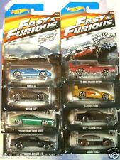 NEW 2015 SET OF 8 HOT WHEELS FAST & FURIOUS DODGE/SUPRA/NISSAN/FORD/SUBARU/BUICK
