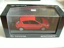 Minichamps Toyota Corolla in Red on 1:43 in Box