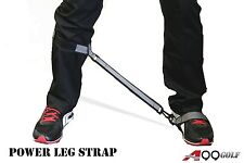 Spicybuys LS1 Golf Leg Correction Strap Swing practice coil master brace
