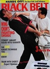 4/00 BLACK BELT LEUNG TING SUH SUNG JIN KUK SOOL WON KARATE KUNG FU MARTIAL ARTS