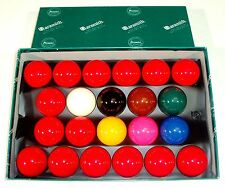 "ARAMITH 2"" SNOOKER BALL 15 RED SET"