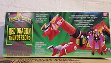 Mighty Morphin Power Rangers Red Dragon Thunderzord de 1993 de los casos cerrados