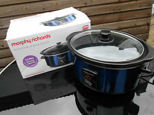 Morphy Richards Accents Blu Slow Cooker
