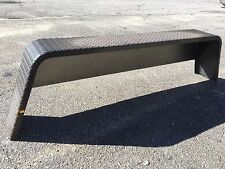 "Tandem Treadplate 14Ga Steel Trailer Fender , Utility for 15"" WHEEL D2E OEM"