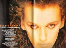 """Pete Burns (DEAD OR ALIVE) Spin Me Centerfold magazine POSTER / Pin Up  17x11"""""""