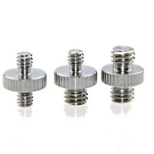 Camvate Double-Head Stud Screw Adapter For DSLY Camera Cage Rig Tripod Monopod
