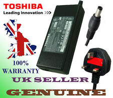 GENUINE ORIGINAL TOSHIBA A300-21H 19V 3.95A 75W ADAPTOR POWER SUPPLY + UK CABLE