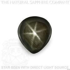 Natural Untreated Black Star Sapphire, 3.43ct. (S2364)