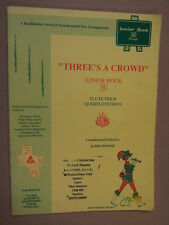 flute THREE IS A CROWD junior book James Power