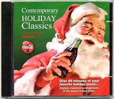Coca-Cola Coke Contemporary Holiday Classics Vol 2 Music CD Brand New Free Ship
