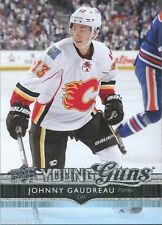 14/15 UD SERIES 1 JOHNNY GAUDREAU #211 YOUNG GUNS ROOKIE RC CALGARY FLAMES