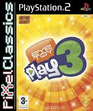 EYETOY: Play 3 PER SONY PLAYSTATION 2 PAL (PS3 60GB COMPATIBILE) KIDS-COMPLETO