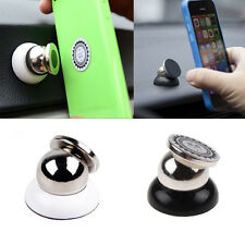 New Universal Magnetic Car Mount Kit Sticky Stand Holder For Mobile Cell Phone Q
