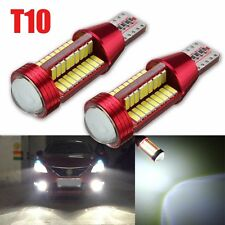 2x T10 W5W 4014 LED 78 SMD Bombilla Coche Canbus Error Free Wedge Light Bulb