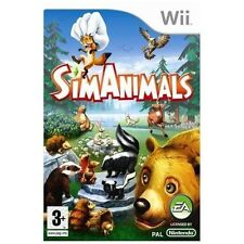 SIMANIMALS=NINTENDO Wii=SIM ANIMALS=AGE 3+=MY SIMS=30 ANIMALS=BEAR=FOX=RABBITT=U
