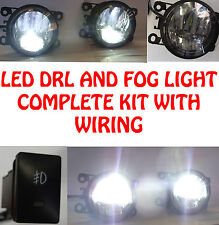 High Power LED DRL And Fog Lights With Wiring And Switch Ford Focus 05+