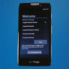 Fair Motorola Droid RAZR MAXX HD XT926 32GB Black (Verizon) SEE NOTES Free Ship