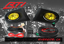 02-04 Acura RSX DC DC5 Type S Base K20 JDM Yellow Fog Light + Harness Switch Kit
