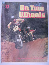 On Two Wheels -  Motorcycle Magazine Volume 3 - Issue No.33 - **FREE POSTAGE**